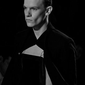 """Damir Doma Runway SS12: Model Portrait - 2"""