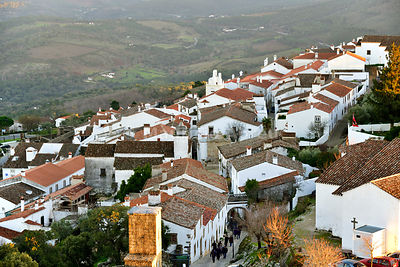 The 9th century village of Marvão with Arab origin. Portugal