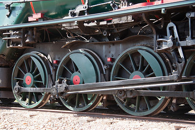 bogeys of Justin Hancock steam engine