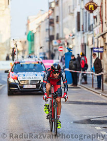 The Cyclist Moinard Amaël- Paris Nice 2013 Prologue in Houilles