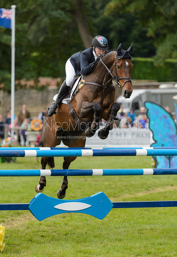 Sammi Birch and HUNTER VALLEY II - Showjumping - Bramham International Horse Trials, June 2017