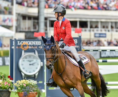 Lauren Hough and OHLALA - FEI Nations Cup, Dublin Horse Show 2017