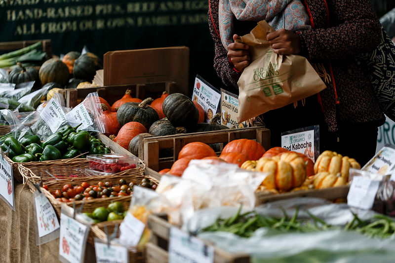 London farmers' markets