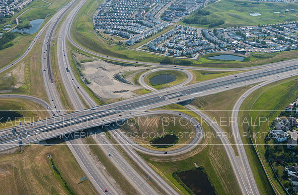 Crowchild Trail at Stoney Trail Interchange, Calgary