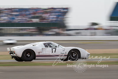 Ford GT40 (4.7-litre V8, 1966) - Silverstone Classic 2013