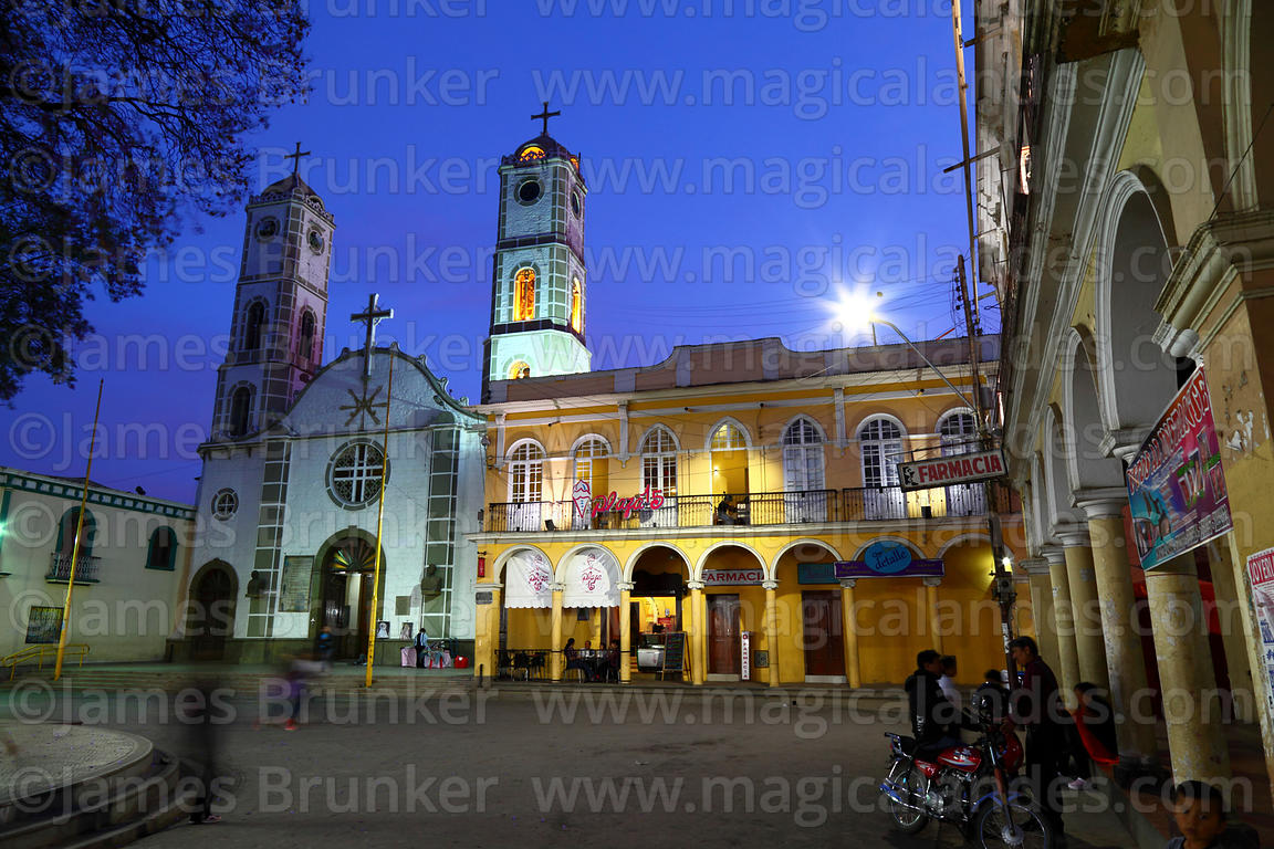 Magical Andes Photography San Ildefonso Church Home Of The Virgen De Urkupina After Sunset Quillacollo Bolivia Photograph