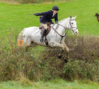 Charlotte Farmer-Day - The Cottesmore Hunt at Tilton on the Hill, 9-11-13