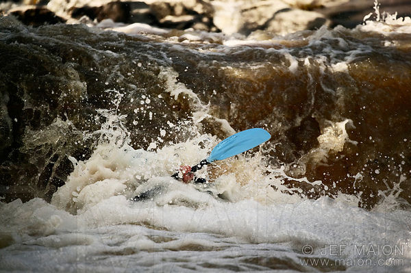 Whitewater kayaking season opening