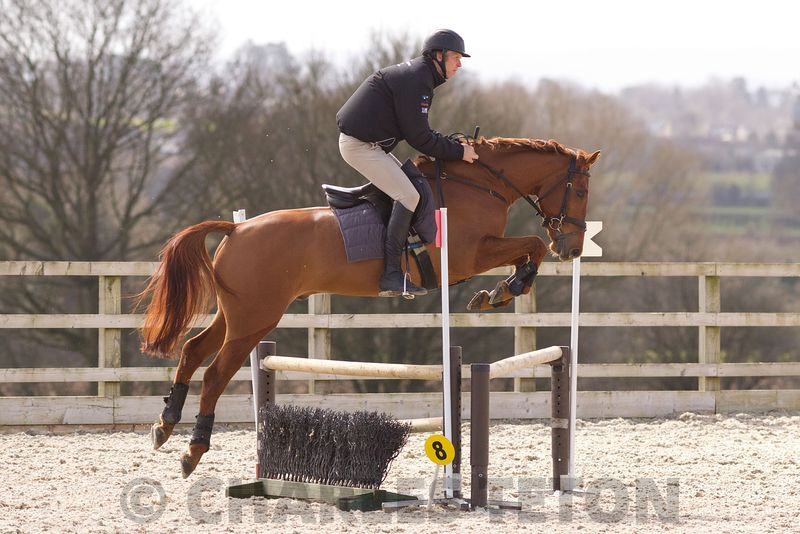 Nick Gauntlett Simulated Cross-Country Training at West Wilts on Sunday 27th March 2016.