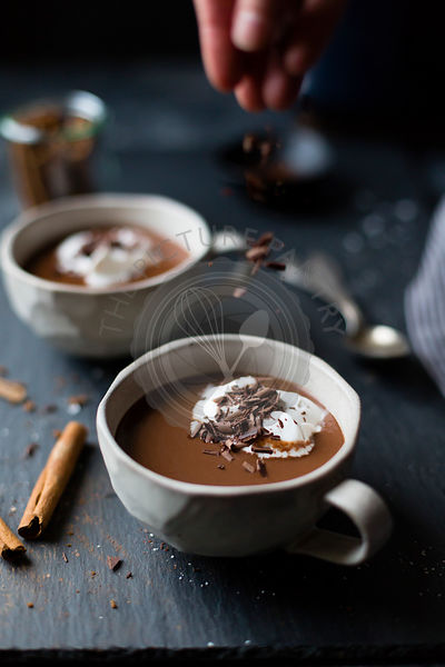 Vegan Mexican Hot Chocolate