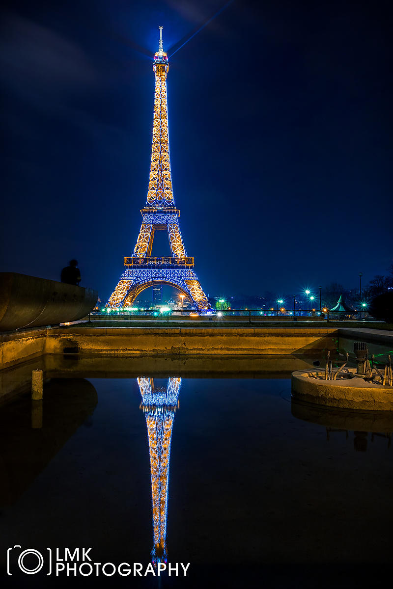 Effiel Tower Reflection