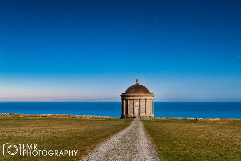 Mussenden Temple Night
