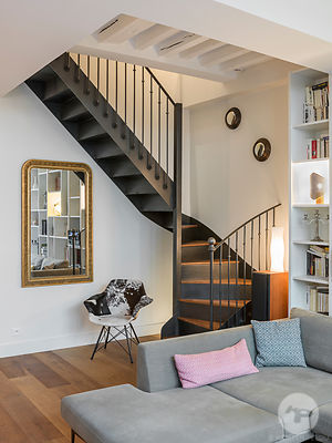 Apartment, interior by Marie Alfroid Architecture, Paris, France
