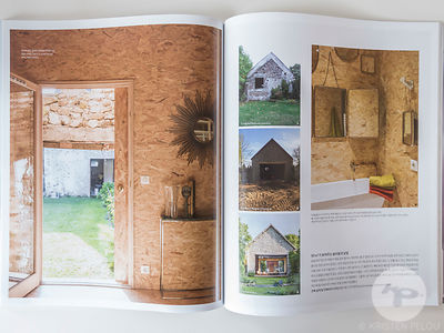 La Cabane project in Casa Living Magazine - Publication : Cover Shot and 11 pages. Architect : Delphine Waiss. Photo : Kriste...