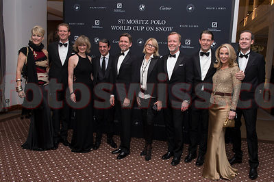 Polo on Snow 2014 St.Moritz Gala Dinner Kempinski Hotel