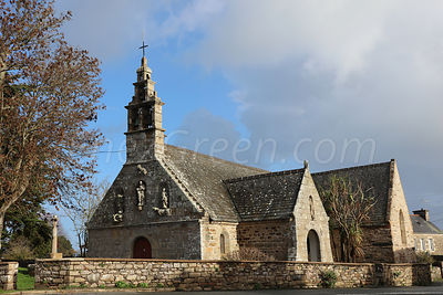 Perros-Hamon old chapel in Ploubazlanech