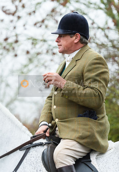 Charlie Gordon-Watson At the meet. The visit of the Wynnstay Hounds to the Cottesmore 27/11