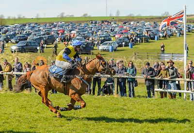 Tom McClorey (NELSON'S LEGEND) - Race 3 Intermediate - The Belvoir Point-to-point 2017