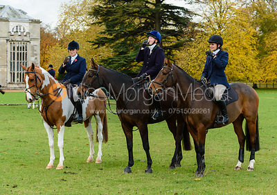 Georgie Fenn at Fitzwilliam Hunt Opening Meet 2018.