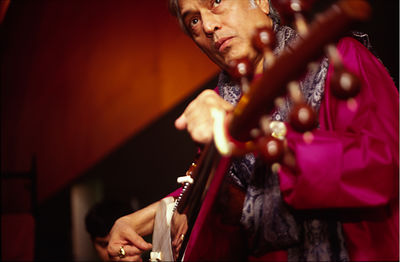 Canary Islands - Las Palmas - Amjad Ali Khan, Indian musician