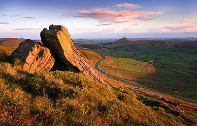 Peak District Photography | Sunset at Shining Tor
