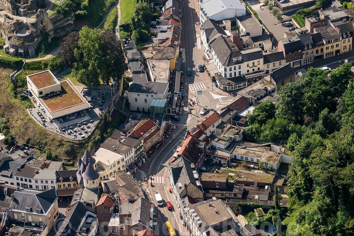 Valkenburg - Luchtfoto begin Cauberg