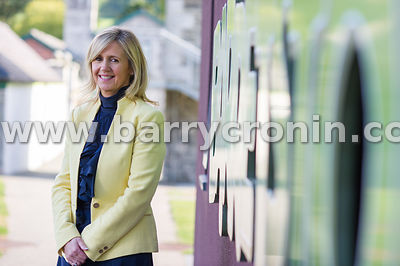 13th October, 2015. Barrettstown Camp CEO Dee Ahearne photographed at Barrettstown Castle, County Kldare. Pictured is Photo:B...