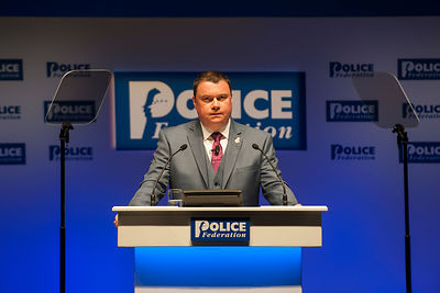 2015 Police Federation Conference, Bournemouth, Dorset, Jason Bye, 19/05/15