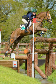 Clare Abbott and EURO PRINCE - Cross Country phase, Mitsubishi Motors Badminton Horse Trials 2014