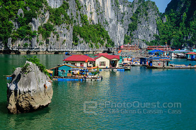 Floating Market and FIshing Village