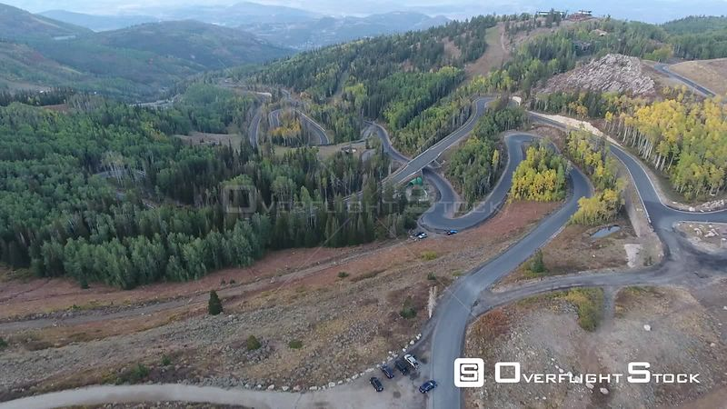 Empire Pass Deer Valley Resort Utah Drone Video