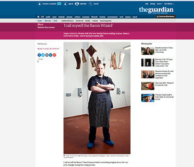 "Jasper Ackroyd ""The Bacon Wizard"" for The Guardian"