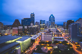 Austin Skyline at Night