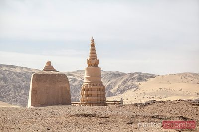 Ancient tomb, Dunhuang, Gansu, China