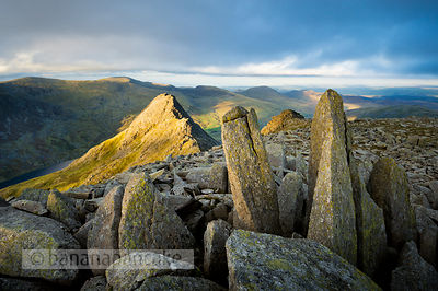 Tryfan from Glyder Fach, - BP2673