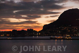 Gibraltar Skyline at Dawn