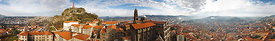 Panorama puy en Velay 360°