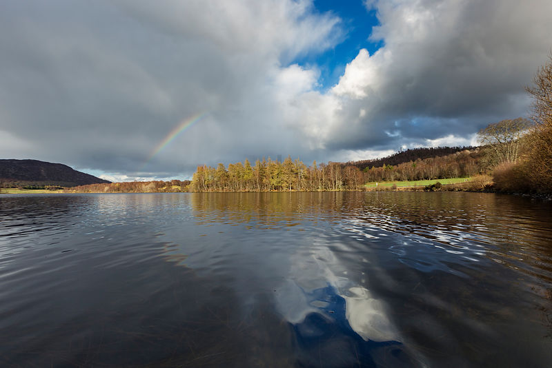 Cairngorms Rainbow over Lochan