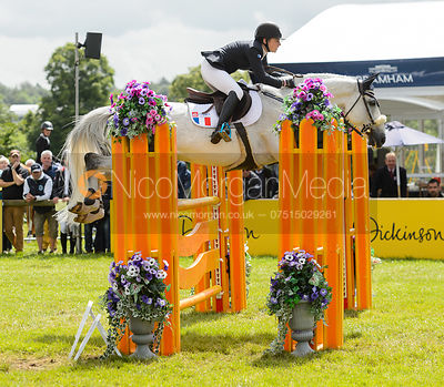 Marie-Caroline Barbier and PICASSO D'OREAL - Bramham International Horse Trials, June 2017