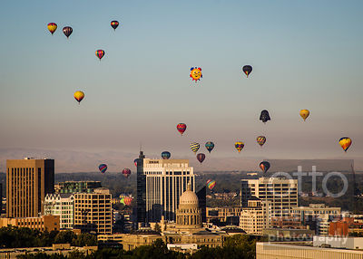 Spirit of Boise Balloon Classic 9/1/17