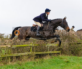 Tiny Clapham jumping at Stone Lodge Farm - The Cottesmore Hunt at Tilton on the Hill, 9-11-13