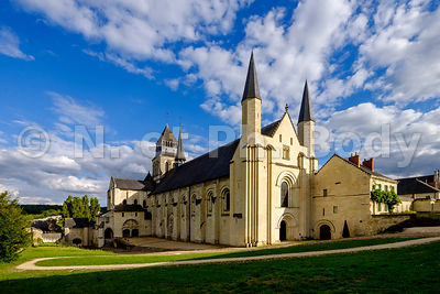 FRANCE, MAINE ET LOIRE, ABBAYE DE FONTEVRAUD // France, Maine et Loire, Fontevraud Abbaye, Loire Valley,  Abbey Of Fontevraud