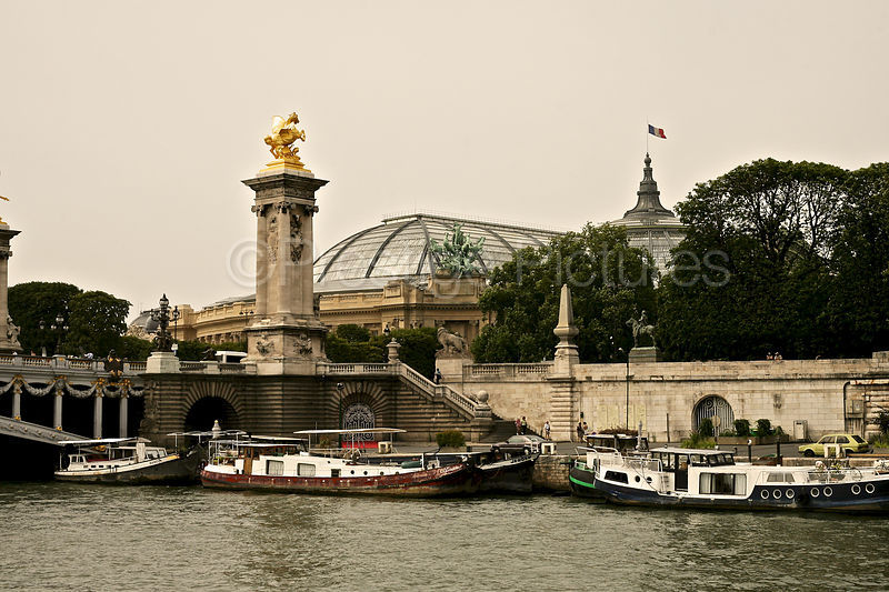 Grand Palais from the River Seine