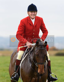 Quorn Huntsman Peter Collins