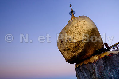 Rocher d'Or, Myanmar//Myanmar, the Golden Rock