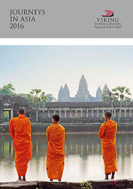 Cover catalogue Viking Cruises Asia