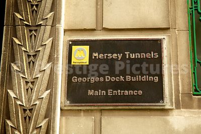 Sign at the Entrance to the St George's Dock Building