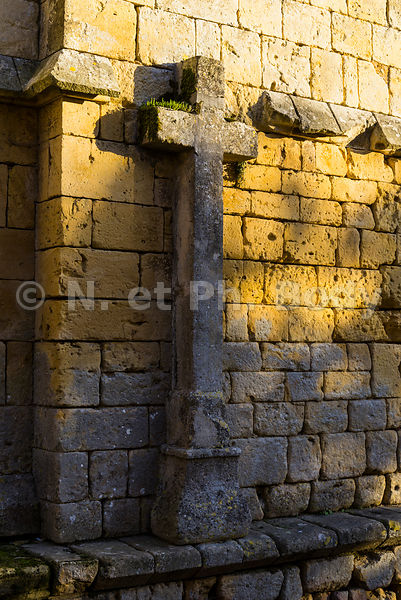 FRANCE , DORDOGNE, MOLIERES, BASTIDE//France, Dordogne, Molieres, Walled Town
