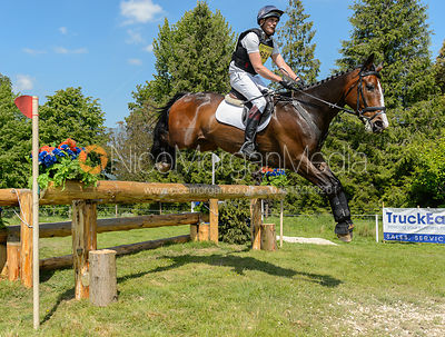 Rodney Powell and GREENHALL JAY, Fairfax & Favor Rockingham Horse Trials 2018