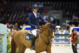 Bordeaux, France, 2.2.2018, Sport, Reitsport, Mercedes-Benz CSI Zurich - Prix FOIRE INTERNATIONALE DE BORDEAUX. Bild zeigt Da...